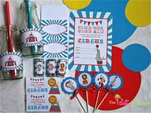 Circus Theme Printable Decorations