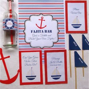 Nautical Theme Printable Decorations