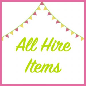 All Hire Items