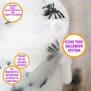 SLIME Time – Halloween Edition Busy Box