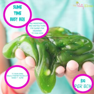 SLIME TIME Busy Box